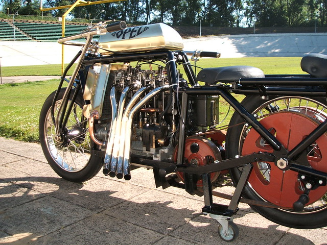 Opel Steher 4 Cylinder Quot Pusher Quot Motorcycle Flickr