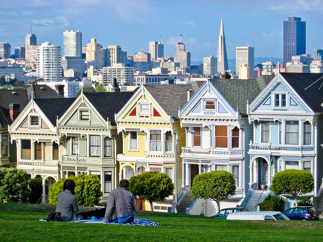 san francisco 39 painted ladies 39 flickr photo sharing. Black Bedroom Furniture Sets. Home Design Ideas