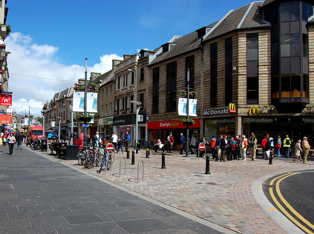 Inverness Town Centre\
