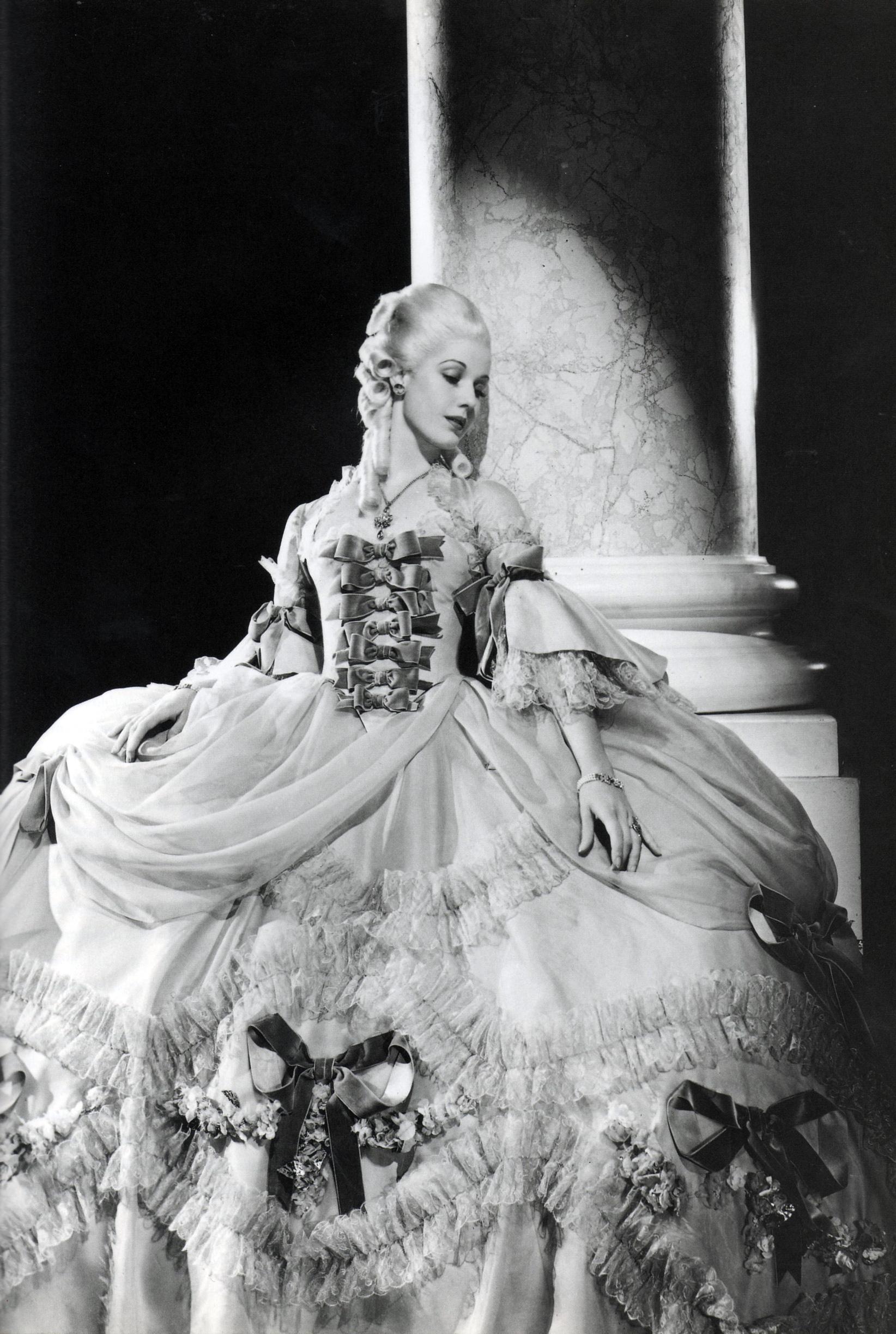 """Anita Louise in """"Marie Antoinette"""", 1938"""