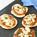Mini Grilled Pizza with Shrimp & Red Pepper Pesto Recipe
