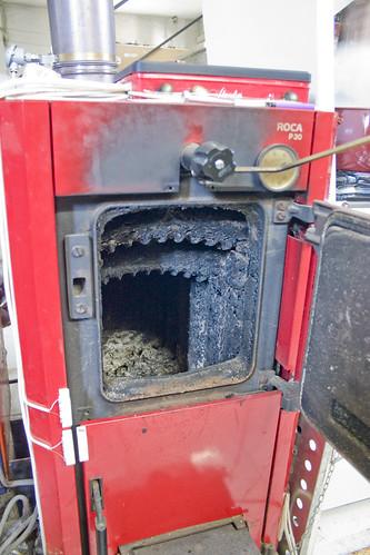Control electr nico de caldera de le a con arduino for Piezas caldera roca