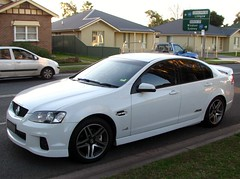bmw 3 series (e90)(0.0), ford ba falcon(0.0), sports car(0.0), automobile(1.0), automotive exterior(1.0), holden ve commodore(1.0), wheel(1.0), vehicle(1.0), automotive design(1.0), rim(1.0), full-size car(1.0), compact car(1.0), bumper(1.0), pontiac g8(1.0), sedan(1.0), land vehicle(1.0), luxury vehicle(1.0), coupã©(1.0),