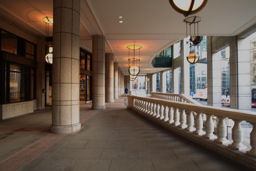 26a2fad356c Bishopsgate Arcade 02 | The arcade at Bishopsgate early in t… | Flickr