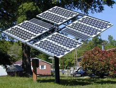 Pole-Mounted Array - Photovoltaic Glass