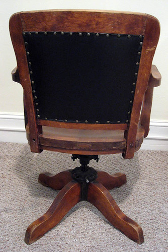 Milwaukee Chair Company Office Chair Antique Appraisal