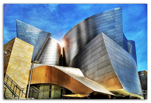 california ca usa building architecture digital photoshop photography la hall losangeles high concert nikon bravo shine dynamic hill grand gehry disney bunker socal kris d200 marvel avenue walt 2008 range shining dri hdr kkg blend blending the cs3 photomatix gehrys kros kriskros 5xp kk2k kkgallery