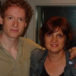 Teddy Thompson at WFUV with Claudia Marshall
