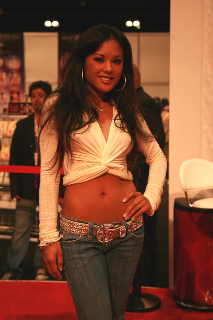 Top Asian model Kaylani Lei shows some skin wearing revealing lingerie  1307944