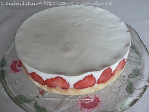 Strawberry-Yoghurt-Torte or tartlets 002