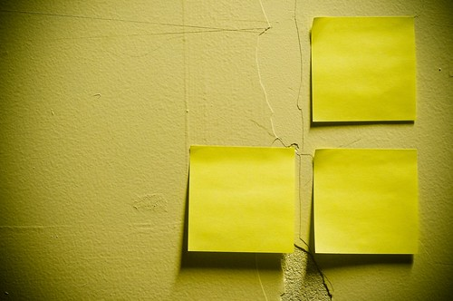 No Post-it Schedule for me