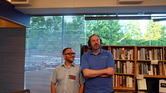 Me and Duane, University of Washington Bookstore, Seattle, WA.JPG
