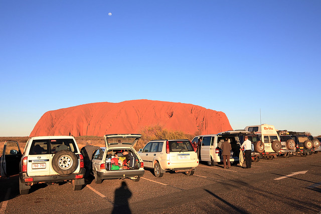 Sunset car park