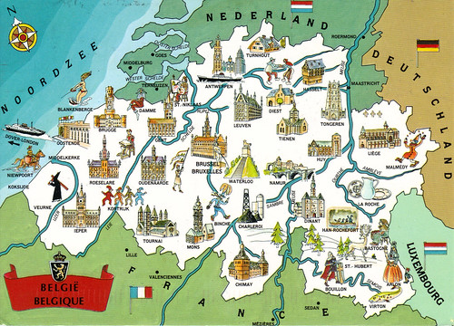 Main Tourist Attraction In Belgium Belgium attractions my travel
