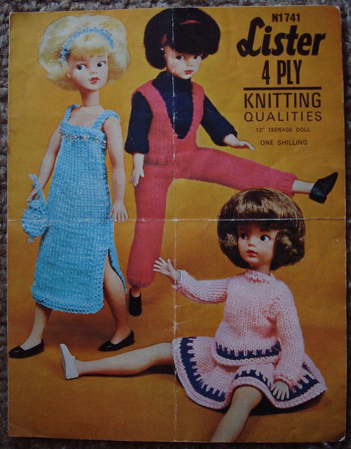 Sindy Knitting Sewing Pattern A Gallery On Flickr