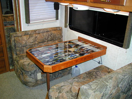 Rv Dining Tables ~ Rv open roads forum hybrid travel trailers my