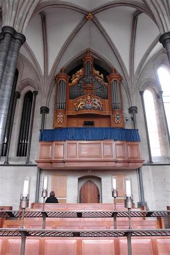 El órgano de la iglesia del Temple La iglesia del Temple de Londres y sus historia de Templarios - 2963430217 0eabf6da26 - La iglesia del Temple de Londres y sus historia de Templarios