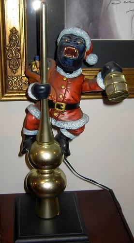 Motorized King Kong Christmas Tree Topper