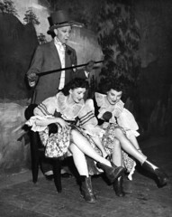 Aqua Theatre performers, 1950