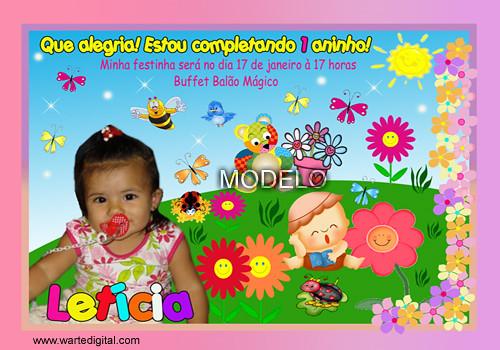 fotos de aniversario tema jardim encantado : fotos de aniversario tema jardim encantado:Convite Jardim Encantado