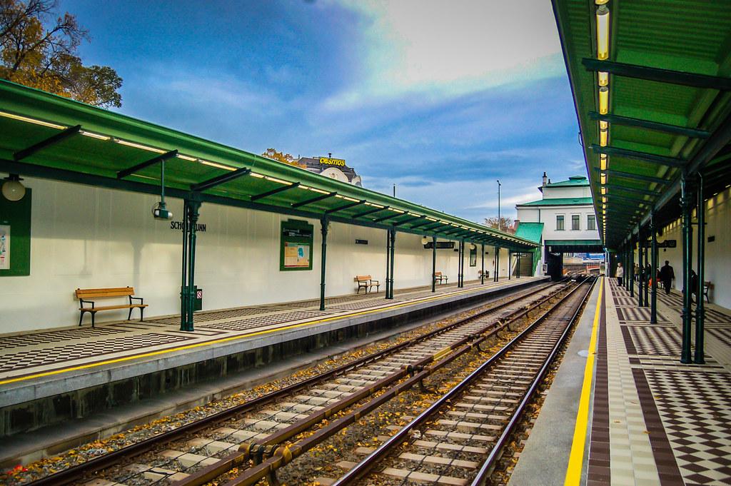 Vienna Schönbrunn U4 Metro Station Mbell1975 Flickr