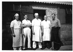 POW Camp Stamford German Chefs