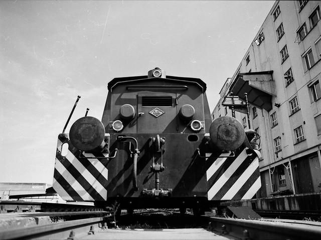 locomotive & port