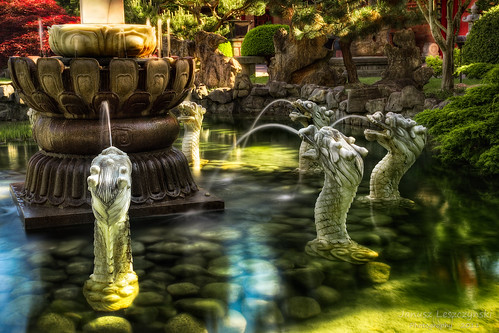 longexposure bw sculpture lake green water fountain statue festival garden temple pond rocks buddha buddhist dragons richmond international filter fountains tallship cp polarizer society hdr steveston guanyin fairytail janusz leszczynski 115323