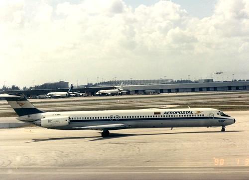 AEROPOSTAL MD 83 YV-38C(cn1367)