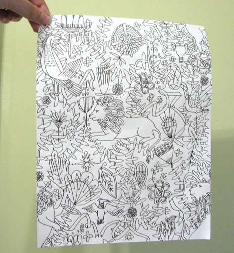 Cool Easy Designs To Draw On Paper