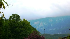 View towards Jura from front garden