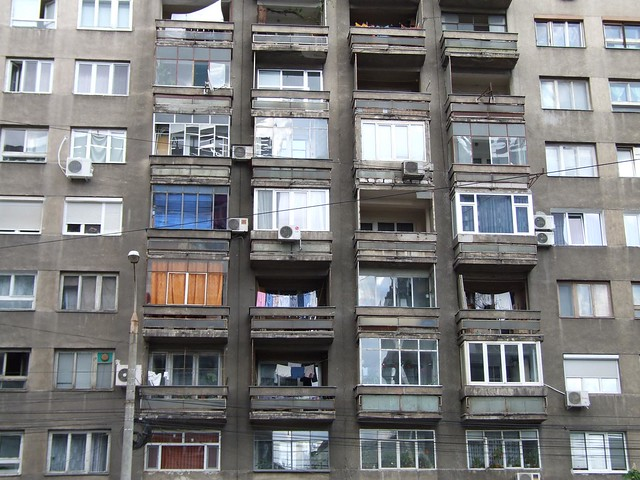 Typical Bucharest dwellings