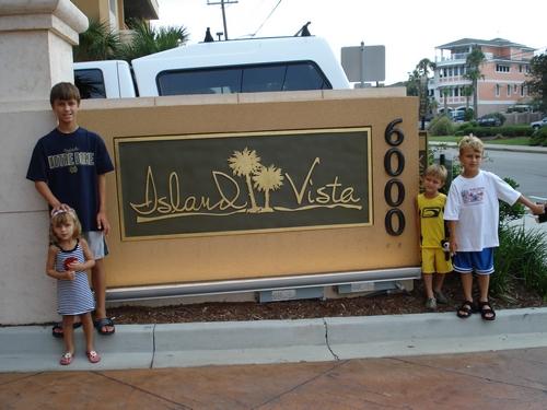 Island Vista, our hotel