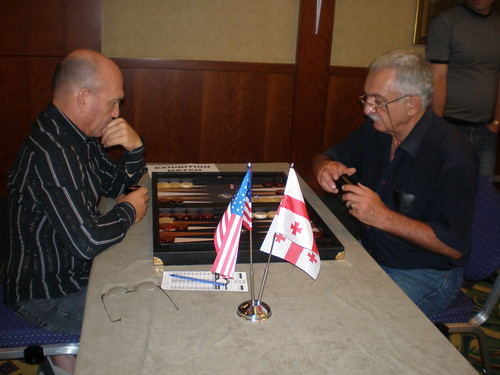 Georgian Open - Backgammon is on