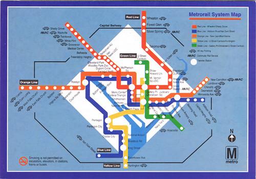 washington metro system map pdf