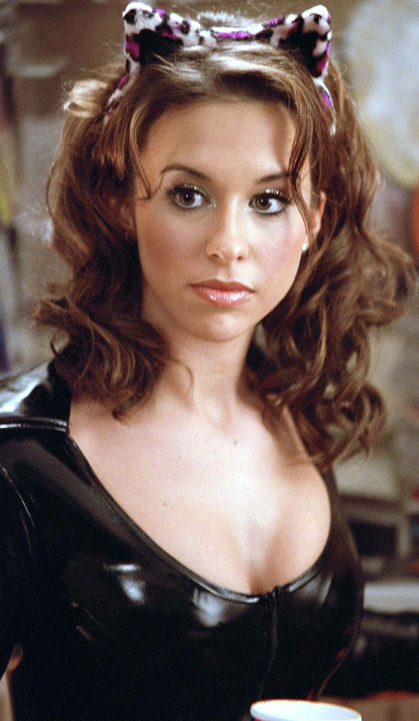 Lacey Chabert in Catsuit