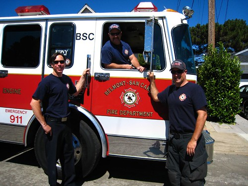 Belmont's Bravest, firemen, fire chief IMG_5705