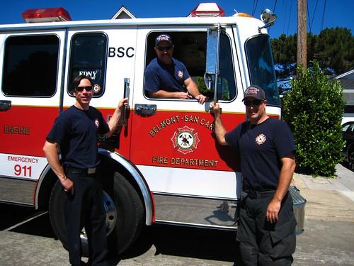 Belmont's Bravest, firemen, fire chief IMG_5705