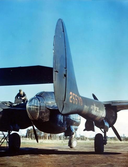 P-61A-1-NO Black Widow