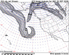 Jet Stream in the North Pacific