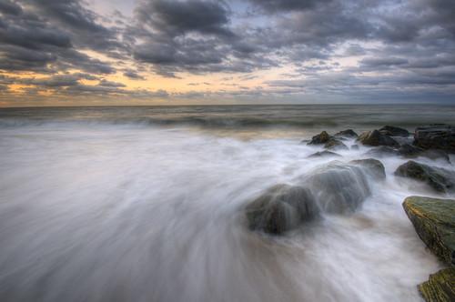 ocean new longexposure seascape sunrise geotagged dawn newjersey rocks jetty nj atlantic jersey capemay tonemapped bloggednj