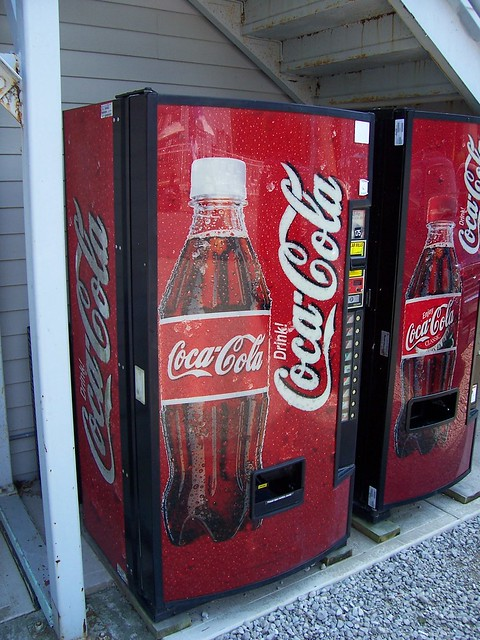 coca cola new vending machine Chairman and ceo m douglas ivester stumbles when he tells brazilian magazine show about the new coca-cola vending machine that can automatically raise prices in hot.