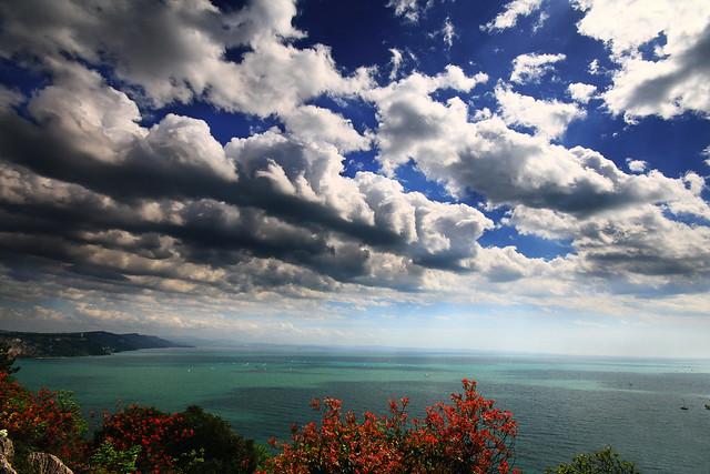 Vista su Costa Triestina