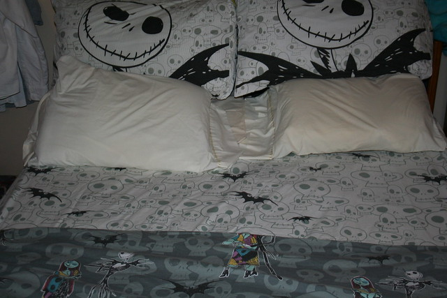 nightmare before christmas bedroom