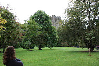 Blarney castle at a distance