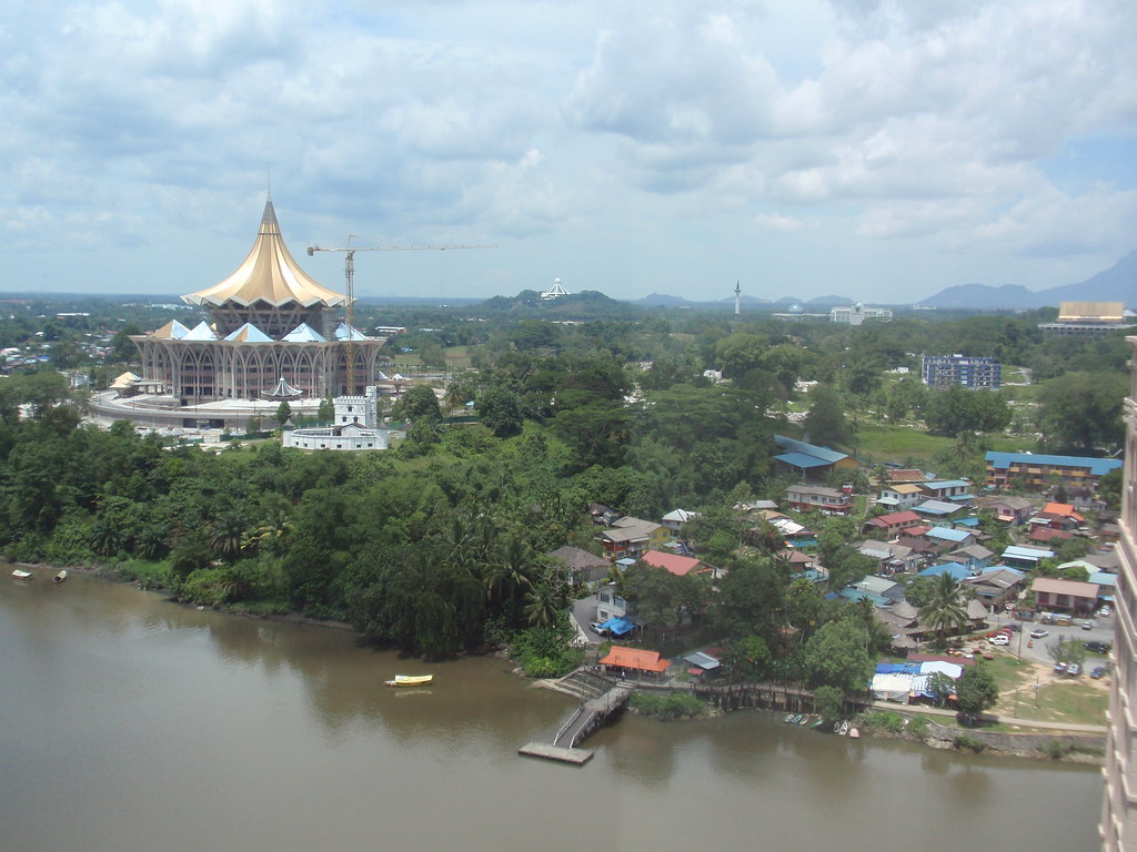 View From 16th Floor, Majestic Riverside Kuching