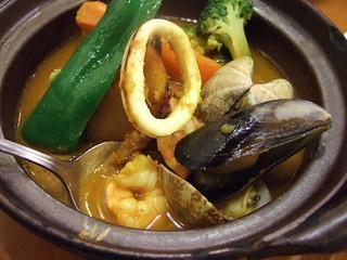 海鮮スープカレー @ カレー研究所