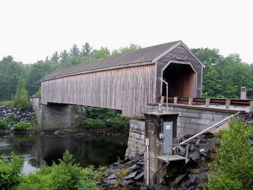 Lowe S Covered Bridge Guilford Maine Flickr Photo