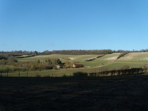 Valley view, outward leg