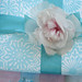 Gift Wrap with Millinery Rose